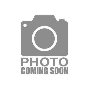 Kinkiet Gipsowy 1pł KORYTKO 12 zaokrąglone niskie z dolnym szkłem 7719 Cleoni