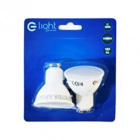 Eko-Light Żarówka EKZA2666 6W/GU10 430lm Zimna biała 6500K 100st