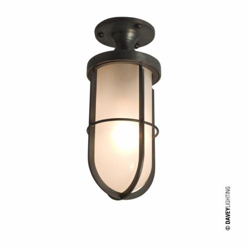 Davey Lighting-7204 WEATHERPROOF SHIP'S WELL GLASS LIGHT-DP7204/BR/FR/WE/E27-BTCDP7204BRFRWEE27