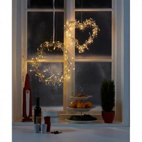 Dekoracja świąteczna do okna KOŁO LIBRA 702778