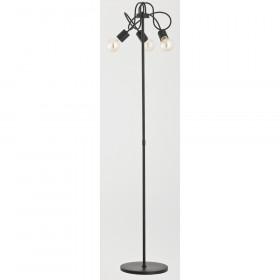 Alfa TANGO BLACK 23179 lampa podłogowa 3x60W/E27
