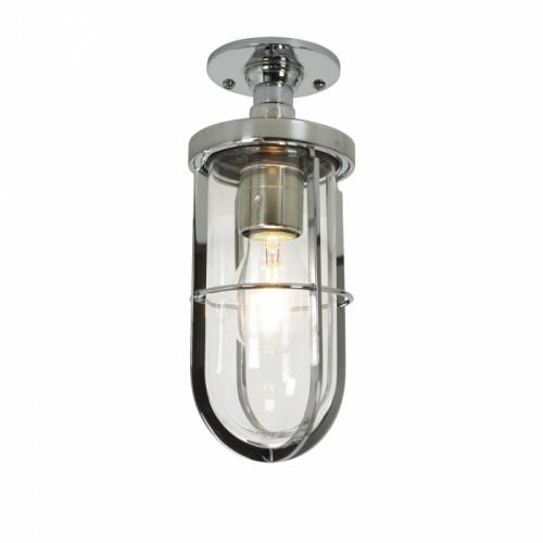Davey Lighting-7204 WEATHERPROOF SHIP'S WELL GLASS LIGHT-DP7204/CP/CL/E27-BTCDP7204/CP/CL/E27