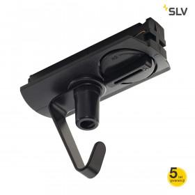 Adapter do szyny 1-fazowej z zaczepem czarny 143170 Spotline