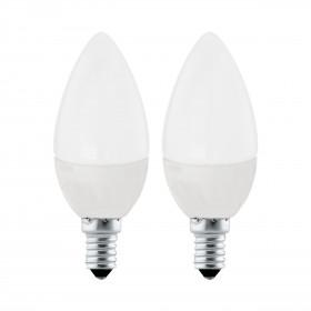 2 x Żarówka LED 4W E14 320LM 4000K 10793 Eglo