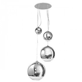 AZzardo SILVER BALL 3873-4P lampa wisząca 4x60W/E27