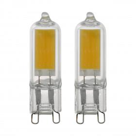 2 x Żarówka LED 2W G9 200LM 4000K 11677 Eglo