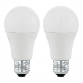 2 x Żarówka LED 6W E27 470LM 3000K 11543 Eglo