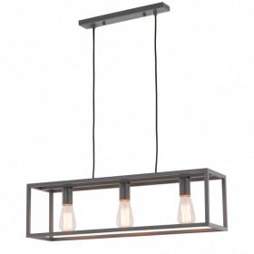 Italux SIGALO MD-BR4367-D3 GR  Lampa wisząca 3x60W/E27