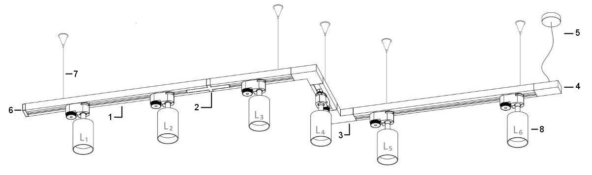 system szynowy schemat
